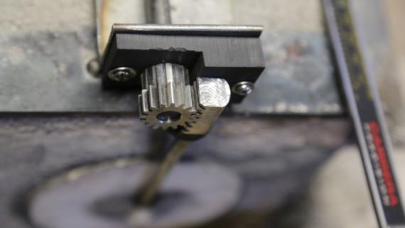 Nozzle Rack & Pinion