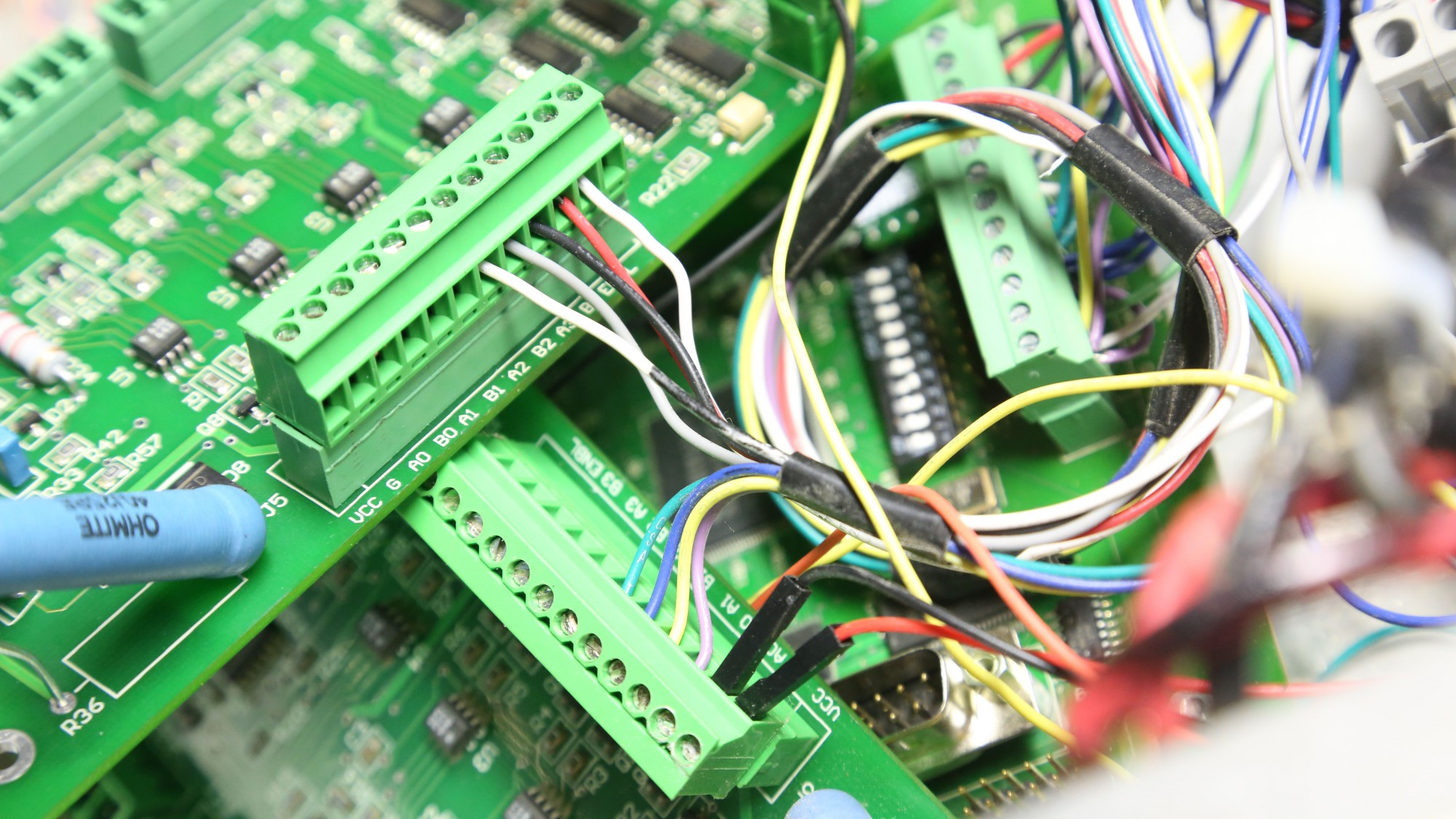 Swapping my super awesome Pico Systems servo controller wire by wire